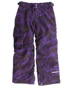 Ride Dart Snowboard Pants Camo Leopard Print Vamp