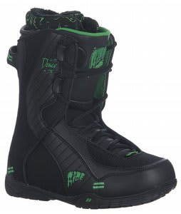 Ride Deuce Snowboard Boots Black/Green