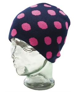Ride Dotty Reversible Beanie Electric Fuschia