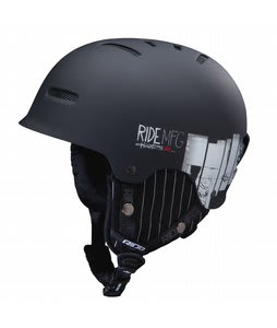 Ride Duster Snowboard Helmet Black