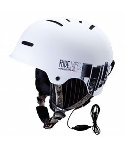 Ride Duster Snowboard Helmet White