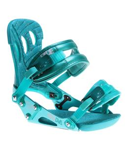 Ride DVA Snowboard Bindings Teal