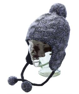 Ride Earflap Beanie Black