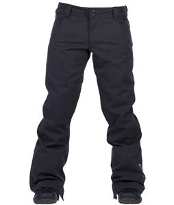 Ride Eastlake Snowboard Pants Gray Storm Denim