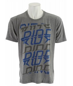 Ride Electric T-Shirt Heather Grey