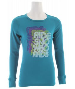 Ride Electro L/S T-Shirt Dark Jade