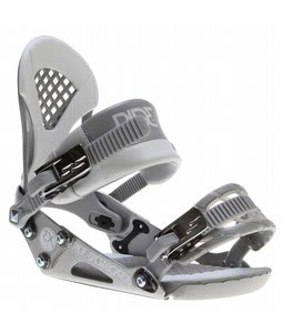 Ride EX Snowboard Bindings Chrome