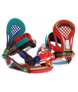 Ride EX Snowboard Bindings Franken