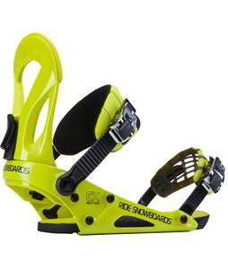 Ride EX Snowboard Bindings Yellow