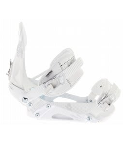 Ride EX Snowboard Bindings White