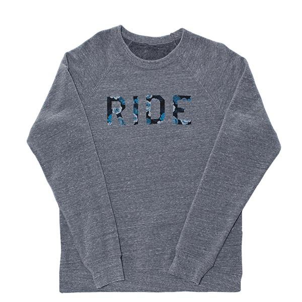 Ride Floral Crew Sweatshirt