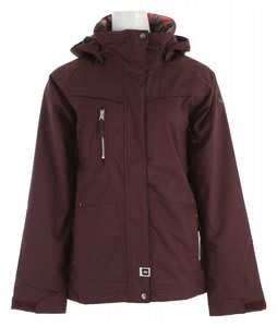 Ride Fremont Insulated Snowboard Jacket Deep Plum