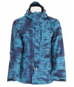 Ride Gatewood Snowboard Jacket Stripe Grime Print