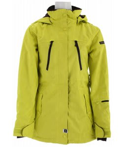Ride Genesee Insulated Snowboard Jacket Ikat Limeade Jacquard