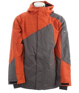 Ride Georgetown Insulated Snowboard Jacket Black Concrete