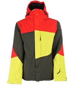 Ride Georgetown Insulated Snowboard Jacket Black Olive