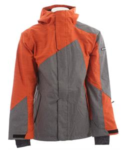 Ride Georgetown Snowboard Jacket Black Concrete