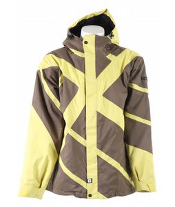 Ride Georgetown Insulated Snowboard Jacket Pale Gold