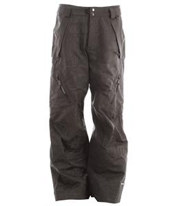 Ride Harbor Snowboard Pants Gunmetal Jacquard
