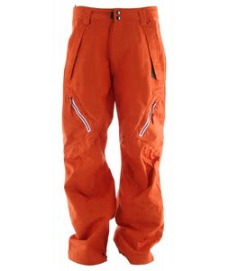 Ride Harbor Snowboard Pants Poppy Red Jacquard