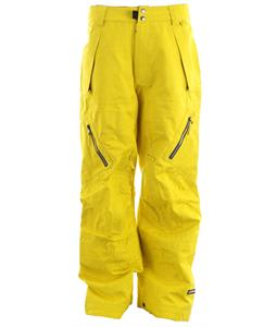 Ride Harbor Snowboard Pants Yellow Jacquard