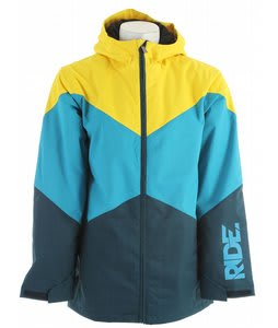 Ride Hawthorne Insulated Jacket Blue Marine Herringbone