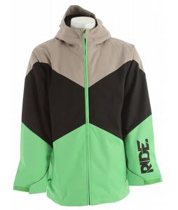 Ride Hawthorne Insulated Jacket Green Herringbone