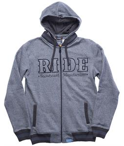 Ride Heathered Full Zip Hoodie
