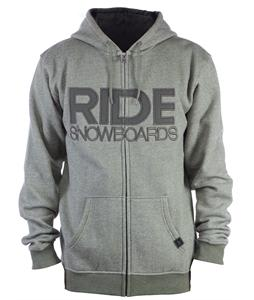 Ride Heathered Full Zip Hoodie Tank