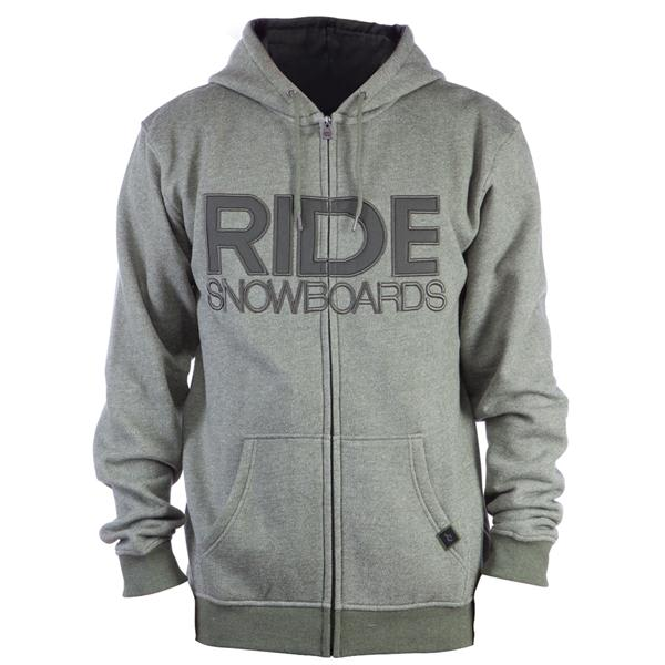 Ride Heathered Full Zip Hoodie