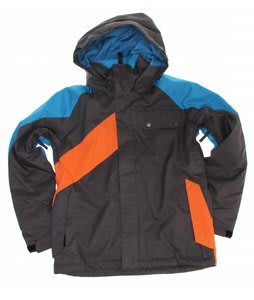 Ride Hemi Insulated Snowboard Jacket Charcoal/Bluebird/Tigerdown