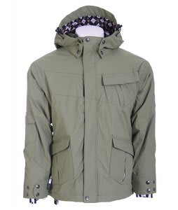 Ride Hemi Youth Snowboard Jacket Olive