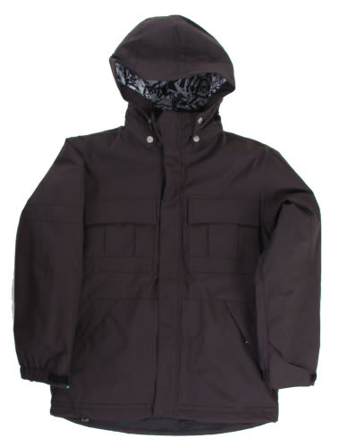 Ride Hemi Youth Snowboard Jacket Black