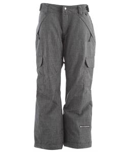 Ride Highland Insulated Snowboard Pants Black Denim