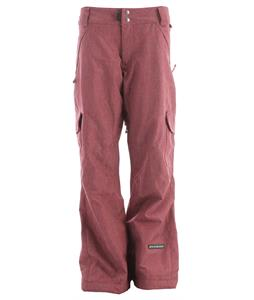 Ride Highland Insulated Snowboard Pants Sangria Denim