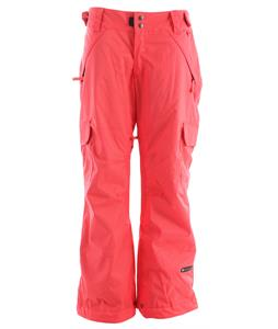 Ride Highland Insulated Snowboard Pants Strawberry
