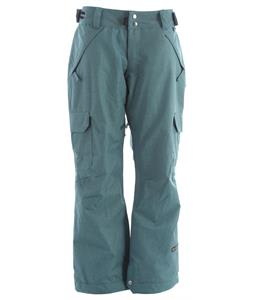 Ride Highland Insulated Snowboard Pants Teal Denim