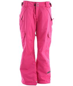 Ride Highland Insulated Snowboard Pants Vivid Magenta