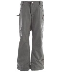 Ride Highland Snowboard Pants Lt Grey Denim