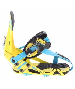 Ride Ill Eagle Contraband Snowboard Bindings Yellow