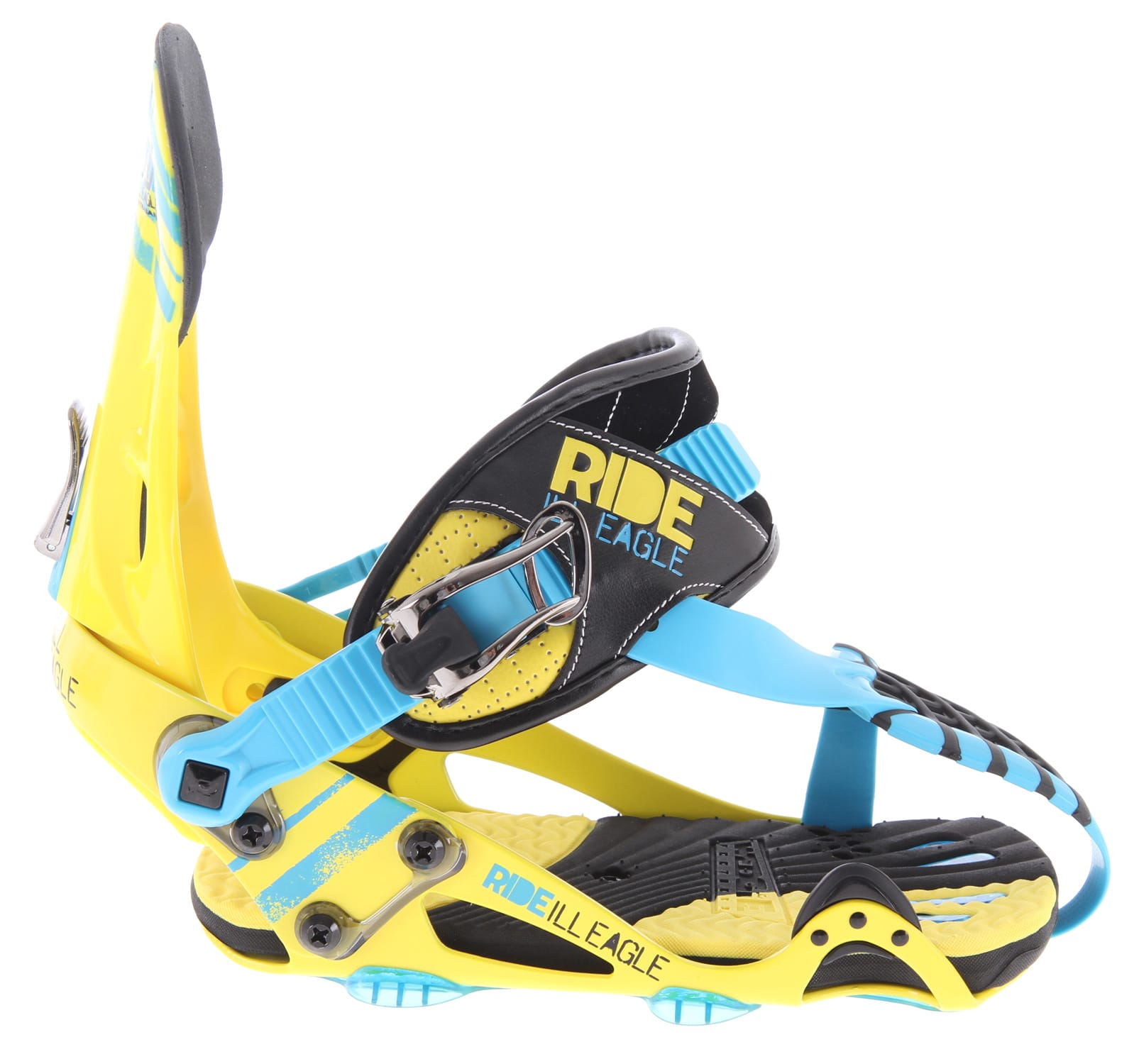 Shop for Ride Ill Eagle Contraband Snowboard Bindings Yellow - Men's