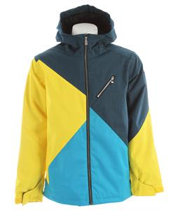 Ride Kent Insulated Snowboard Jacket Blue Marine