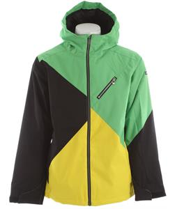 Ride Kent Insulated Snowboard Jacket Green