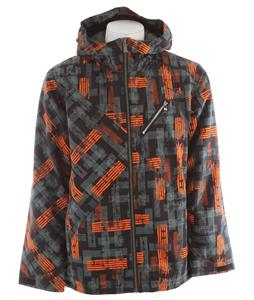 Ride Kent Insulated Snowboard Jacket Worn Out Print