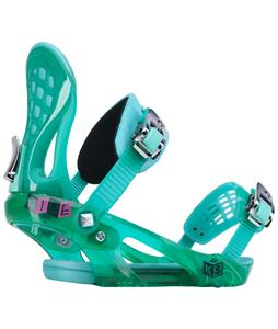 Ride KS Snowboard Bindings Aqua