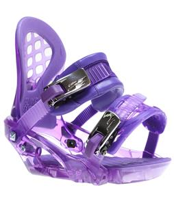Ride KS Snowboard Bindings Purple