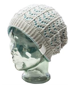 Ride Lacey Reversible Beanie White Ice