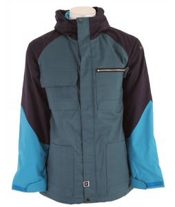 Ride Laurelhurst Insulated Snowboard Jacket Blue Spruce/Ink/Bluebird