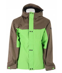 Ride Laurelhurst Insulated Snowboard Jacket Slime Green