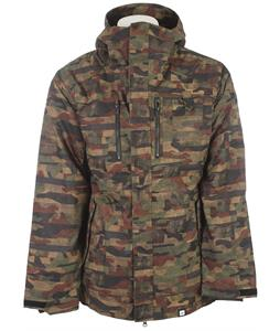 Ride Laurelhurst Snowboard Jacket Distorted Camo Print